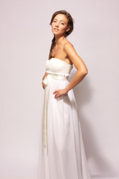 Robe de mariée, création Aurélia Hoang,